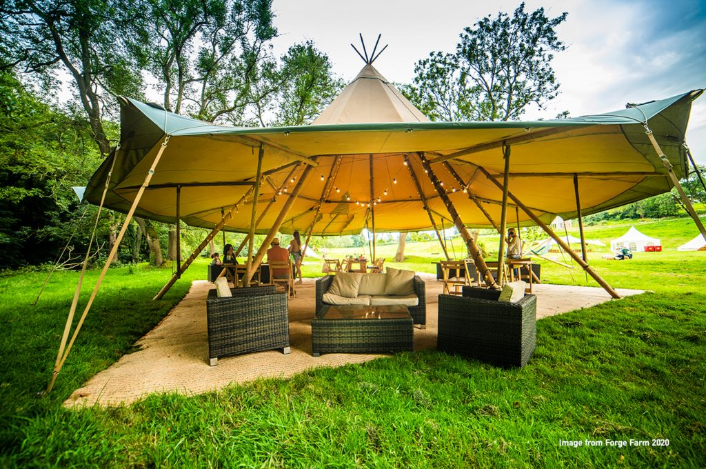 Dining-tent