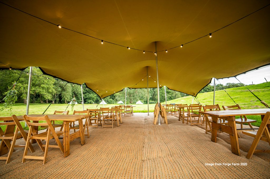 Dining-tent correct