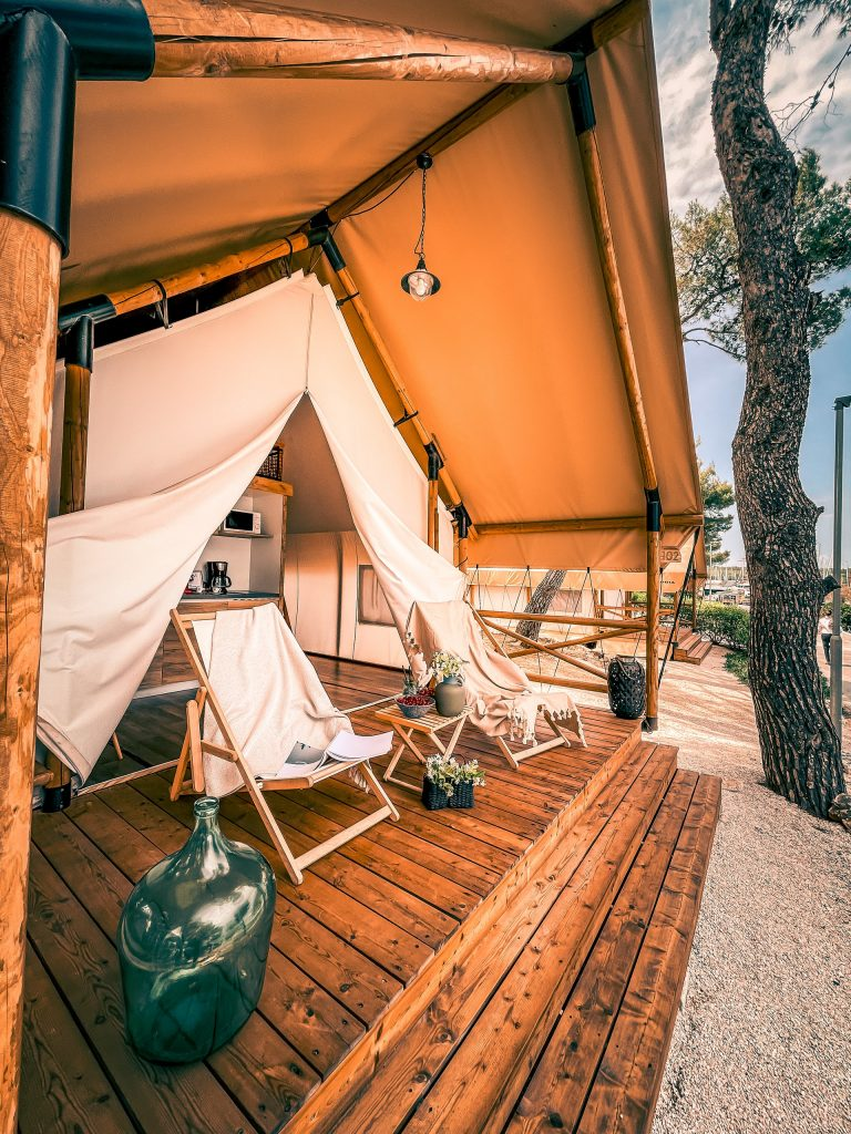 tent for glamping