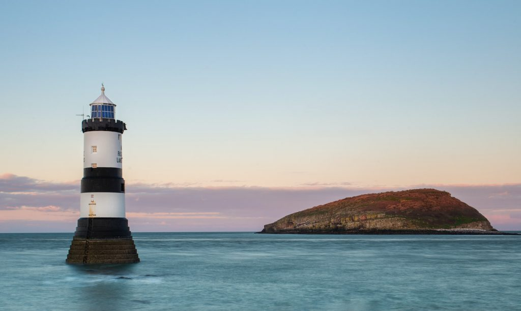 lighthouse in anglesey